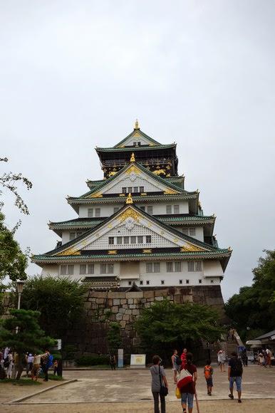【日本】大阪城天守閣.見證那絢爛豪華的戰國時代