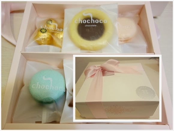 [體驗]chochoco wedding手工法式喜餅禮盒