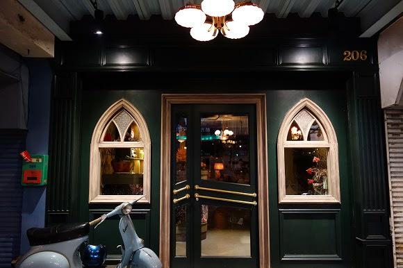 【台南】鑽石樓.迷人的老上海風情Lounge Bar.咖啡館