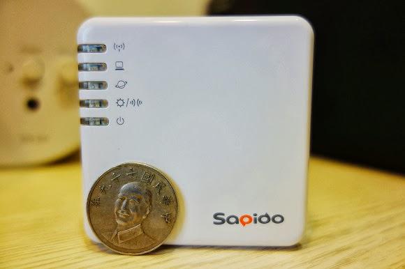 [開箱]Sapido BRF70n 隨身基地台.旅遊好幫手