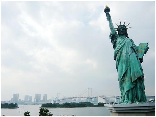 日本Day30|台場超好玩。自由女神。台場小香港