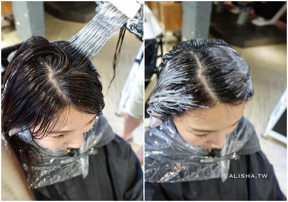 第一階段染髮